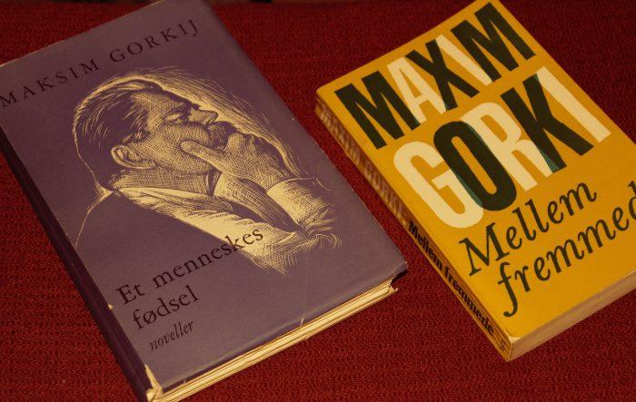 Foto af Gorkij-bøger