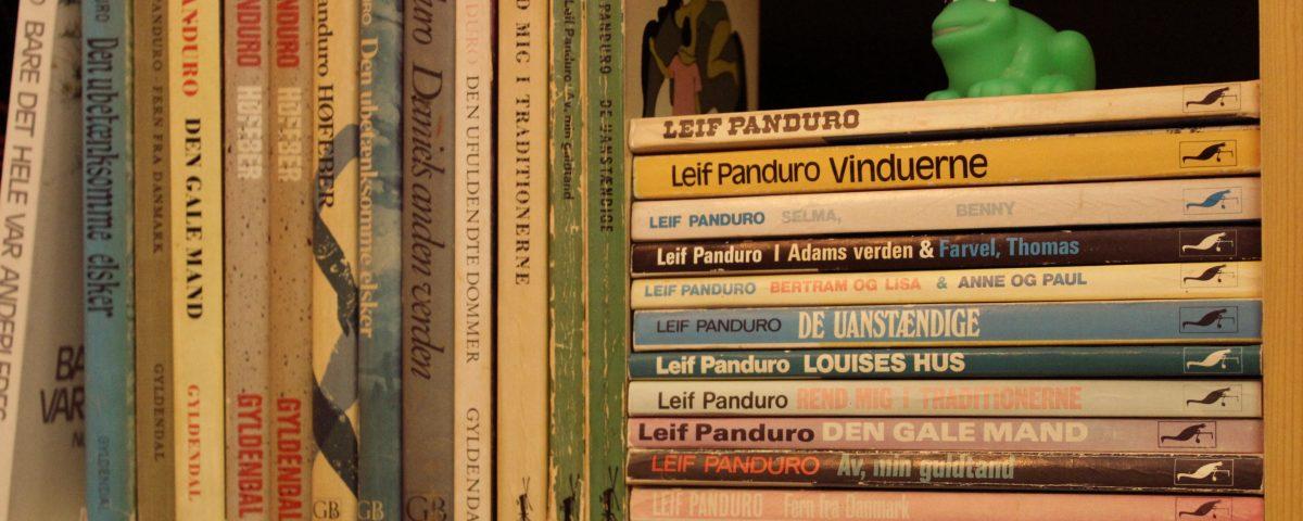 Foto af Panduro-bøger
